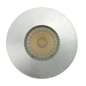 Lathe Aluminum GU10 MR16 Round Fixed Recessed LED Bathroom Downlight (LT2902) pictures & photos