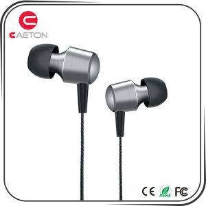New Design Earbuds Wired 3.5mm Earphone with Metal Case