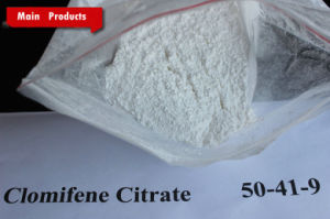 Anti-Estrogen Steroids CAS 50-41-9 White Powder/Clomifene Citrate (Clomid) pictures & photos