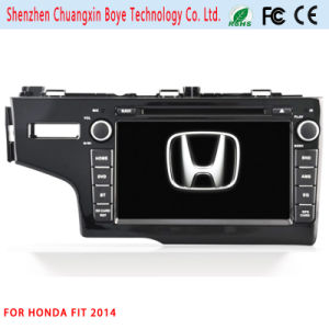Car Central DVD GPS Multimedia Player for Honda Fit 2014 pictures & photos
