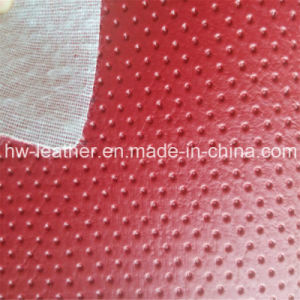 High Quality PVC Leather for Sofa Hw-755 pictures & photos
