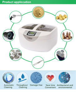 2.5 Liters Heated Ultrasonic Coin Cleaner pictures & photos