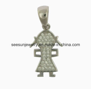 2016 Hotselling 925 Sterling Silver Boy and Girl Pendant pictures & photos
