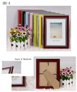 Plastic Colorful Picture Frame (BH-43040)