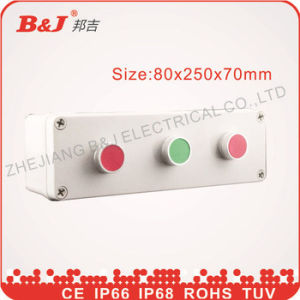 Plastic Waterproof Button Box 80X250X70mm IP68 pictures & photos