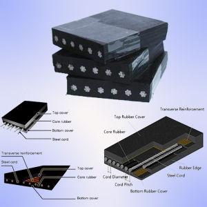 Oil Resistant Flat Steel Cord Rubber Conveyor Belt