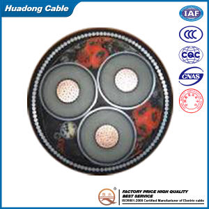 185mm2 Copper Conductor XLPE Insulated Steel Wire Armoured Power Cable (YJV32)