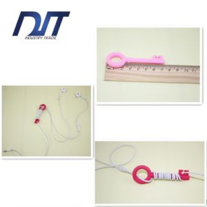 Fashion Silicone Earphone Cable Cord Winder Wrap Key Cord Winder pictures & photos
