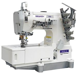 Sk500-01 Super High Speed Flat Bed Interlock Machine (General Plain Sewing) (SK500-01)