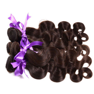 Peruvian Virgin Hair Body Wave 1b/4/27# 1b/4/30# 1PC Ombre Human Hair Bundles Three Tones 7A Ombre Hair Bundles pictures & photos