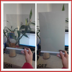 Self Adhesive Dimmable Pdlc Glass Film pictures & photos
