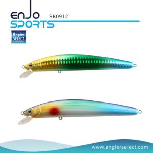 3D Eyes Shallow Stick Bait Fishing Tackle Lure with Vmc Treble Hooks (SB0912) pictures & photos