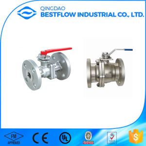 Best Selling Steel Flanged Ball Valve pictures & photos