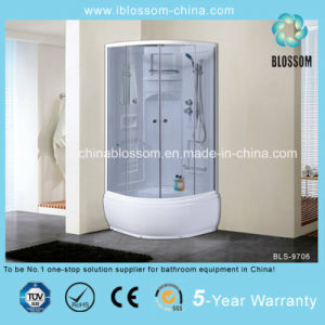 Tempered Grey Glass Complete Shower Room Shower Cabin/Enclosure (BLS-9706) pictures & photos