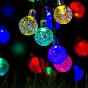 New Outdoor LED Christmas Holiday Solar Sliver Wire String Light Waterproof65 pictures & photos