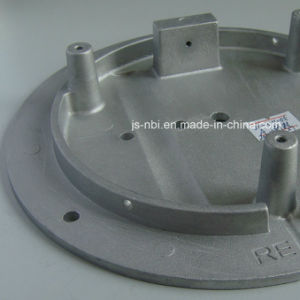 China Factory Made Aluminum Die Casting Base Plate for Valve Industry Use with Sand Blasting pictures & photos