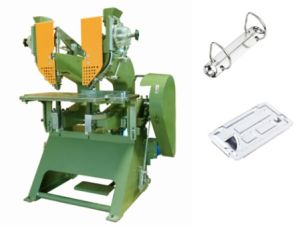 Lever Arch File Twin Riveting Machine -Twin Eyeleting Machine pictures & photos
