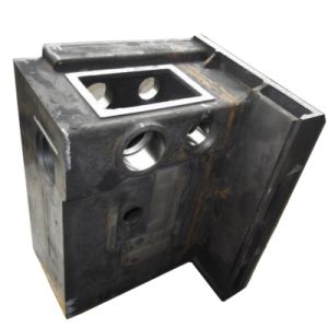 OEM Metal Steel Rail Train Parts with En 15085 pictures & photos