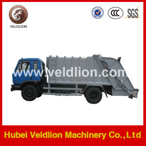 Dongfeng 4X2 Drive 6m3 Compactor Garbage Truck pictures & photos