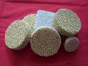 Zirconia Ceramic Foam Filter for Molten Steel Filtration pictures & photos