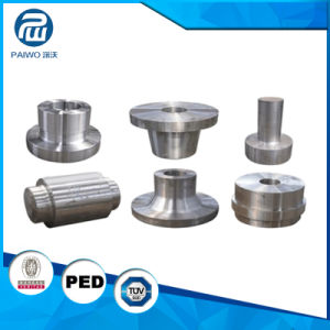 Hot Forging CNC Machining Semi-Finished Valve Cover Flange pictures & photos