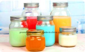 250ml Glass Jar Glass Storage Jar with Metal Lid Mason Jars pictures & photos