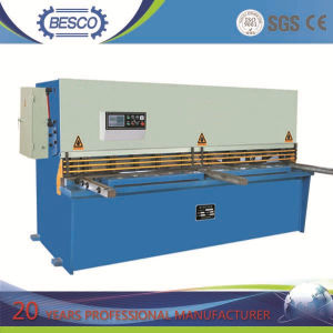 Hydraulic Metal Sheet Shearing Machine with Nc Control pictures & photos
