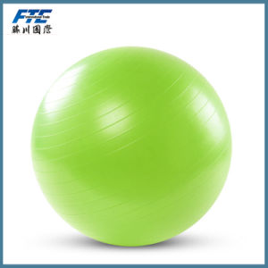 Gymnastic Fitness Pilates PVC Yoga Ball with OEM Logo pictures & photos