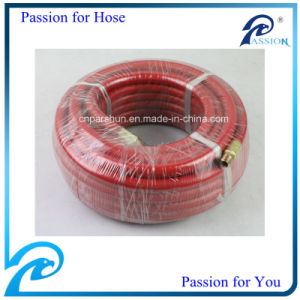 3/8 Inch 50FT Length Rubber Air Hose with Mnpt or Bspf Fittings pictures & photos