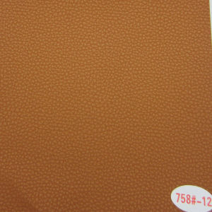 PVC Synthetic Leather for Car Seat with Stain Resistance (758#) pictures & photos