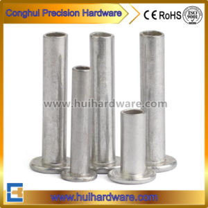 Stainless Steel Flat Head Semi Tubular Rivets pictures & photos