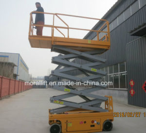 Battery Powered Mobile Scissor Lift pictures & photos