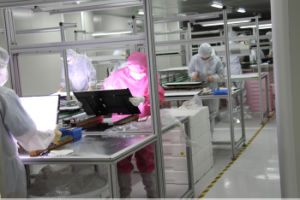 LED Panel Module Belt Conveyor Line-1 in Cleanroom pictures & photos