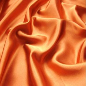 100% Polyester Plain Dyed Satin Fabric pictures & photos