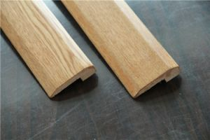 Solid Oak Flooring Wood Stair Nosing / Skirting Tread pictures & photos