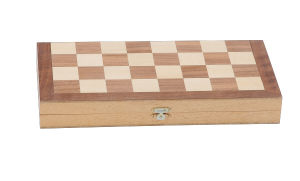Wooden Backgammon and Chess Game (CB2548) pictures & photos
