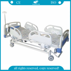 AG-Bm003 ABS 5-Function Electric Used Nursing Bed pictures & photos