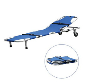 Single Foldable Ambulance / Emergency Stretcher with Backrest with CE and ISO pictures & photos