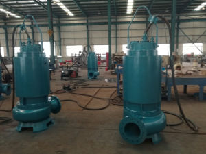 High Efficiency Non-Clogging Submersible Sewage Centrifugal Irrigation Water Pump pictures & photos
