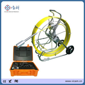 60m/120m Sony CCD Self-Leveling Drain Sewer Pipe CCTV Inspection Camera (V8-3288) pictures & photos