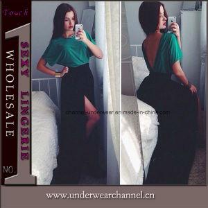 Wholesale Plus Size Deep V Long Dress (TONY6016) pictures & photos