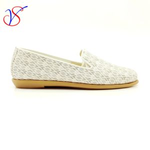 Three Color Soft Comfortable Flax Lady Women Shoes Sv-FT 012 pictures & photos