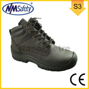 Nmsafety Cow Split All Leather Work Boots for Chile pictures & photos
