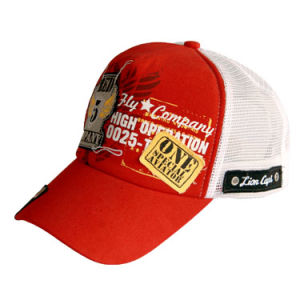 Red Fashion Trucker Caps (JRT005) pictures & photos