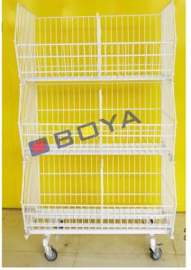 Metal Rack, Shelf, Cage for Supermarket pictures & photos