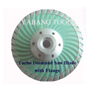 Turbo Diamond Saw Blade With Flange pictures & photos