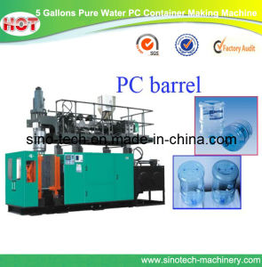 3gallon 4 Gallon 5 Gallon PC Bottle Making Machine PC Blowing Machine pictures & photos