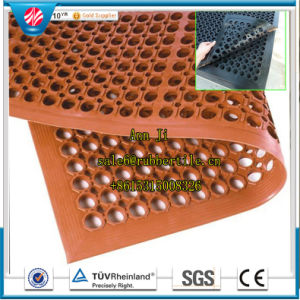 3′*5′*1/2′′anti-Fatigue Rubber Cushion Flooring Oil-Resistant Safety Kitchen Mat pictures & photos