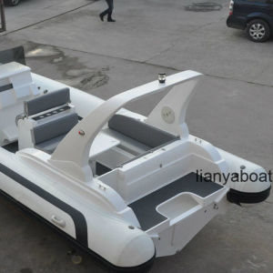 Liya 7.5m Fiberglass Inflatable Boats China Large Yacht for Sale pictures & photos