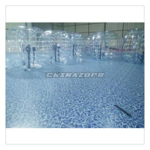 Most Popular Inflatable Sports Game Clear Body Zorbing Ball